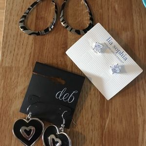 Lia Sophia and Deb earrings